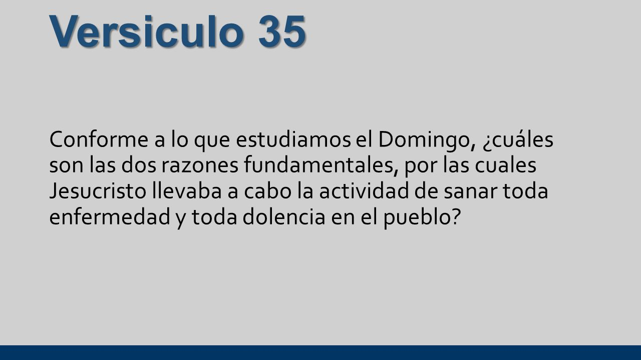 Versiculo 35