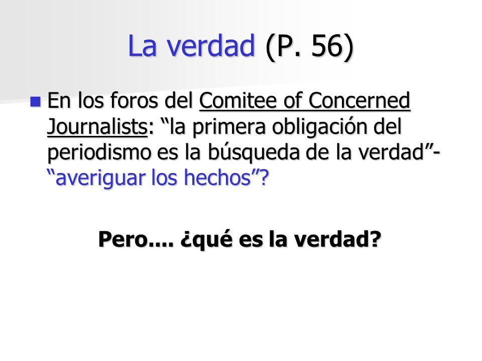 La verdad (P. 56)