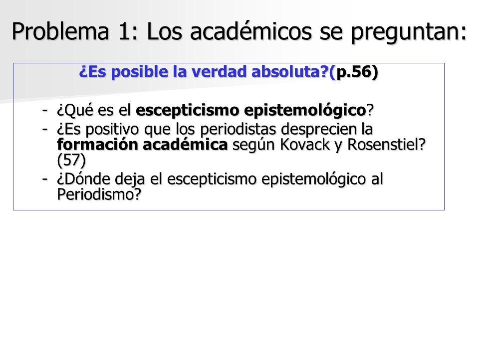 Problema 1: Los académicos se preguntan: