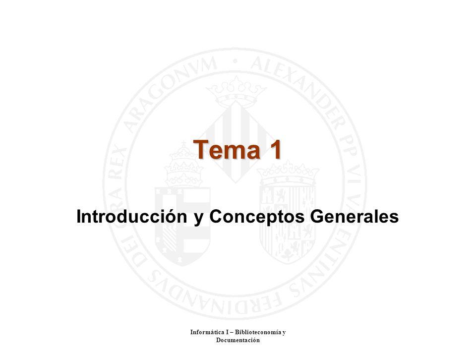 Introducción y Conceptos Generales