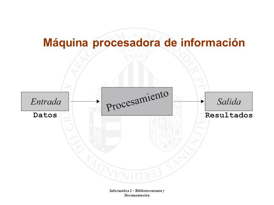 Máquina procesadora de información