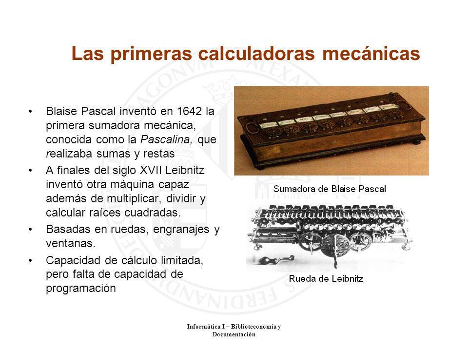 Las primeras calculadoras mecánicas
