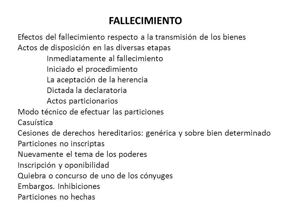 FALLECIMIENTO