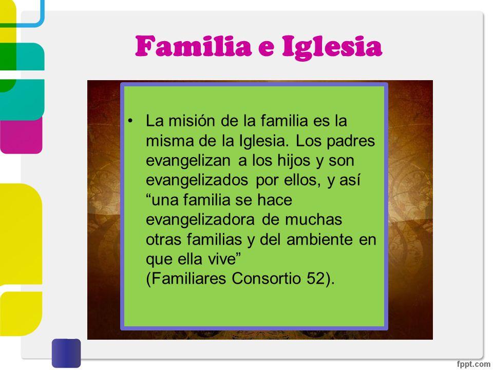 Familia e Iglesia