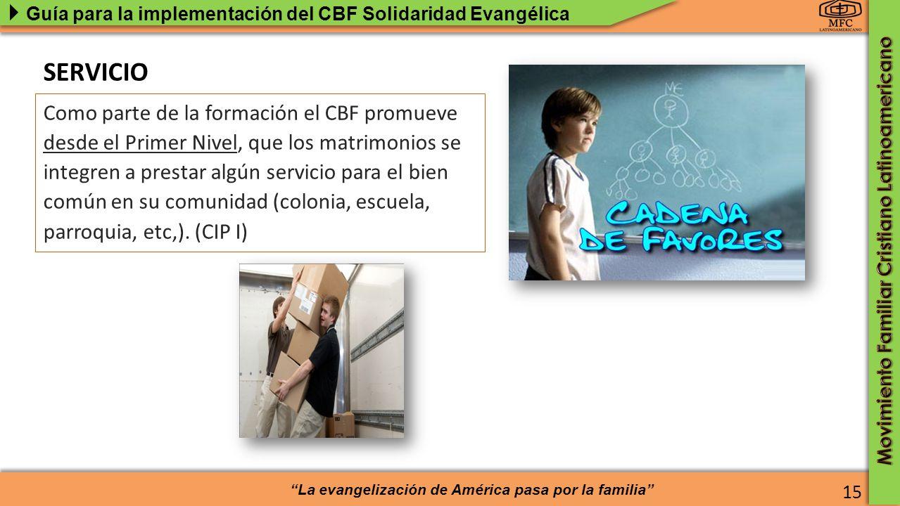 SERVICIO Estructura pedagógica del CBF El Ciclo Básico de Formación