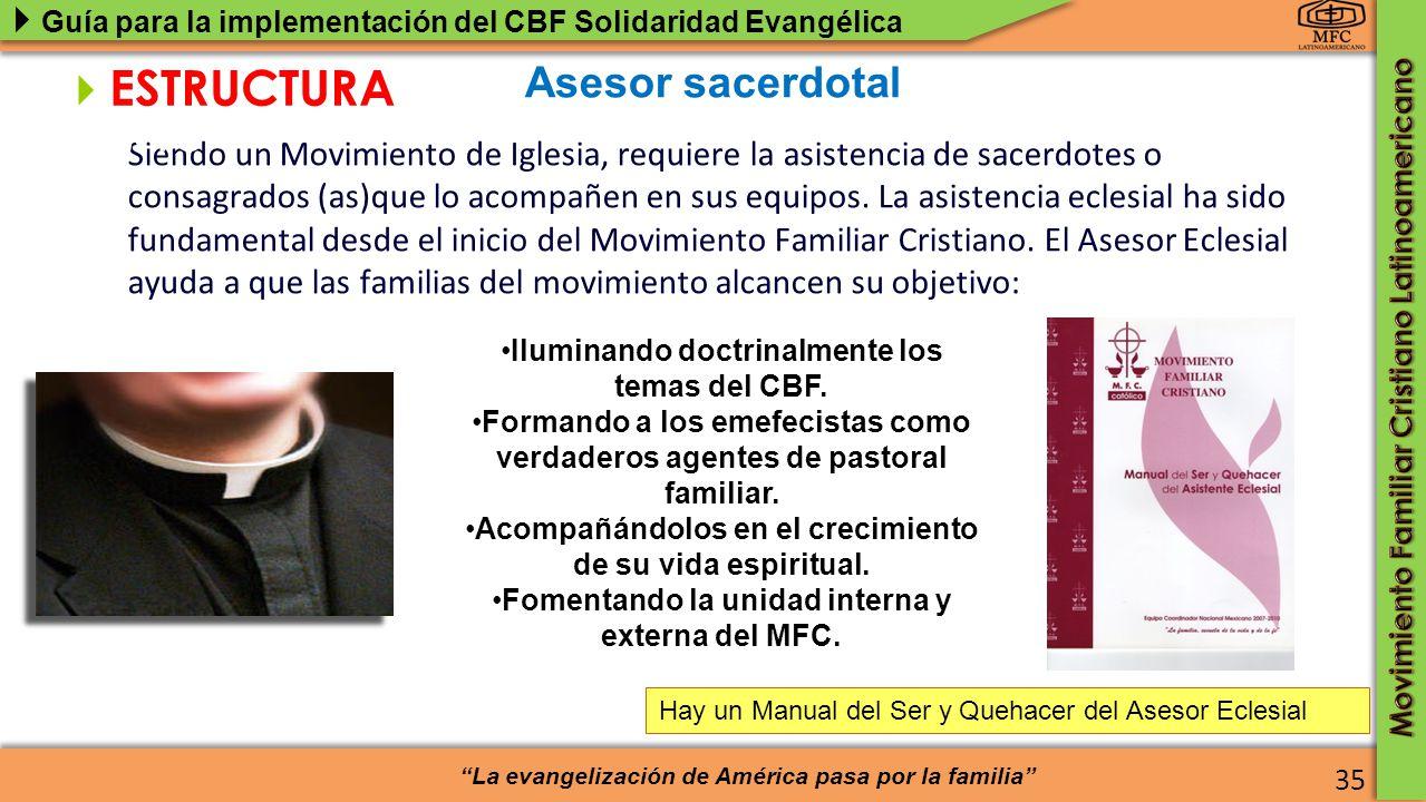 ESTRUCTURA del MFC Asesor sacerdotal