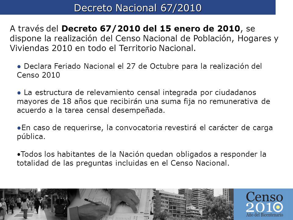 Decreto Nacional 67/2010