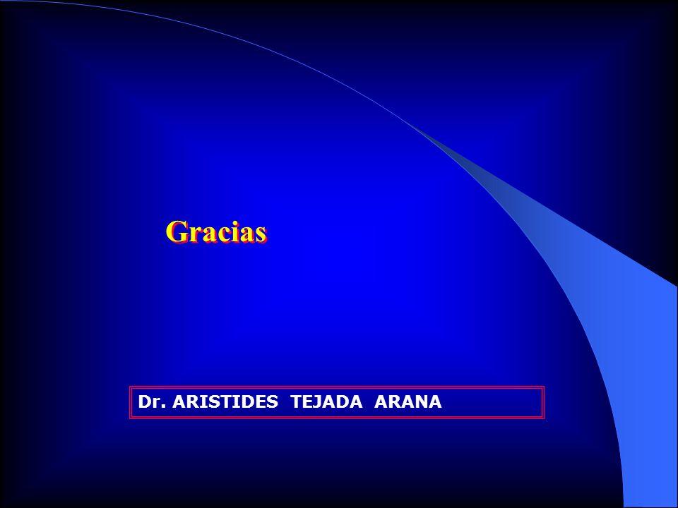 Gracias Dr. ARISTIDES TEJADA ARANA
