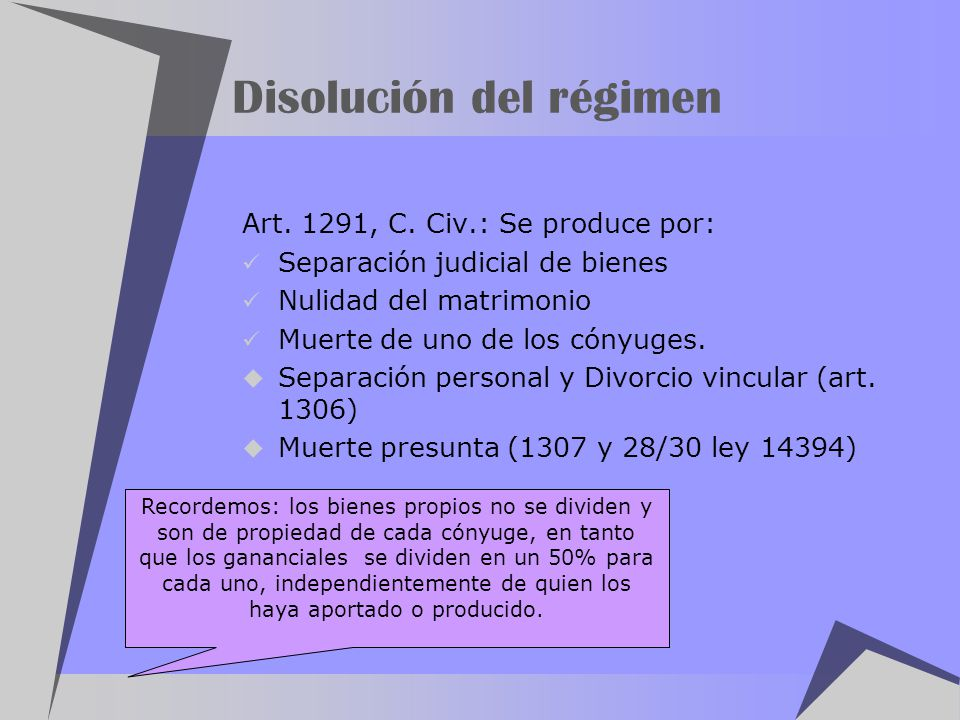 Disolución del régimen