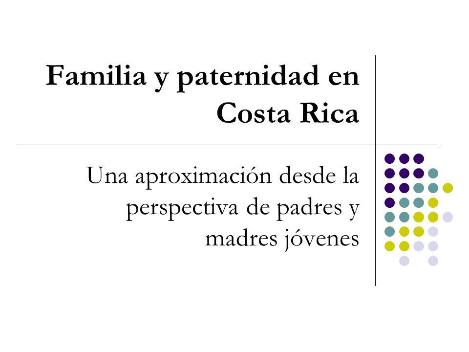 Familia y paternidad en Costa Rica
