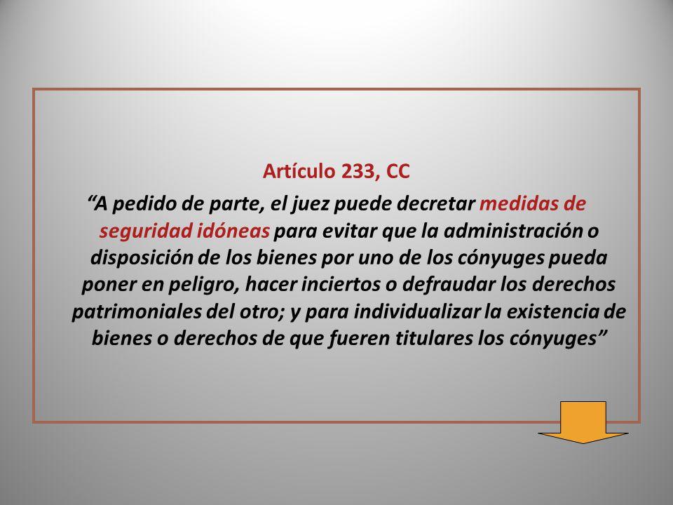 Artículo 233, CC