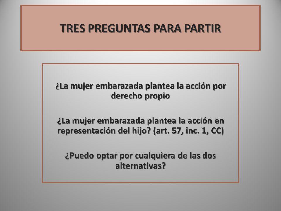 TRES PREGUNTAS PARA PARTIR