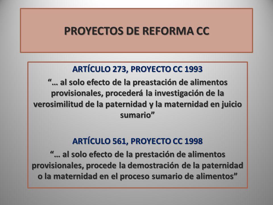 PROYECTOS DE REFORMA CC