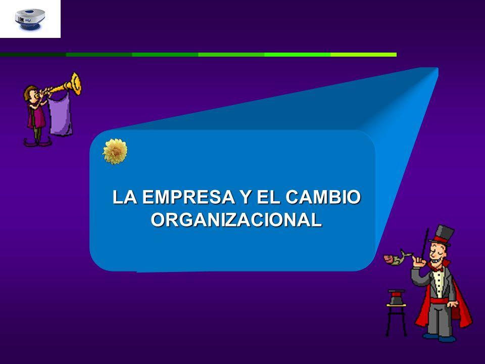 LA EMPRESA Y EL CAMBIO ORGANIZACIONAL