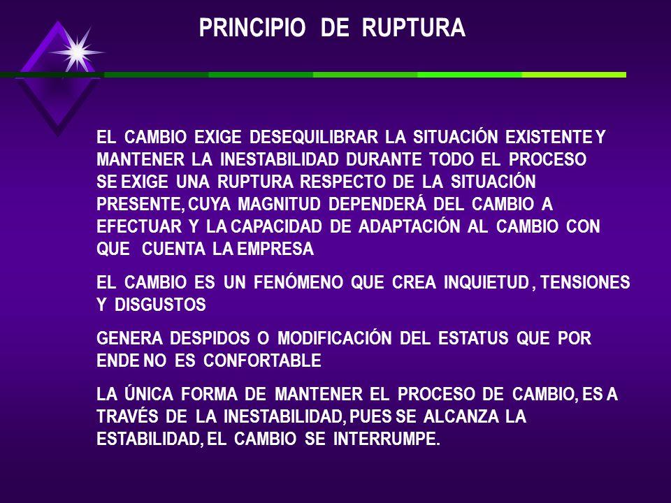 PRINCIPIO DE RUPTURA