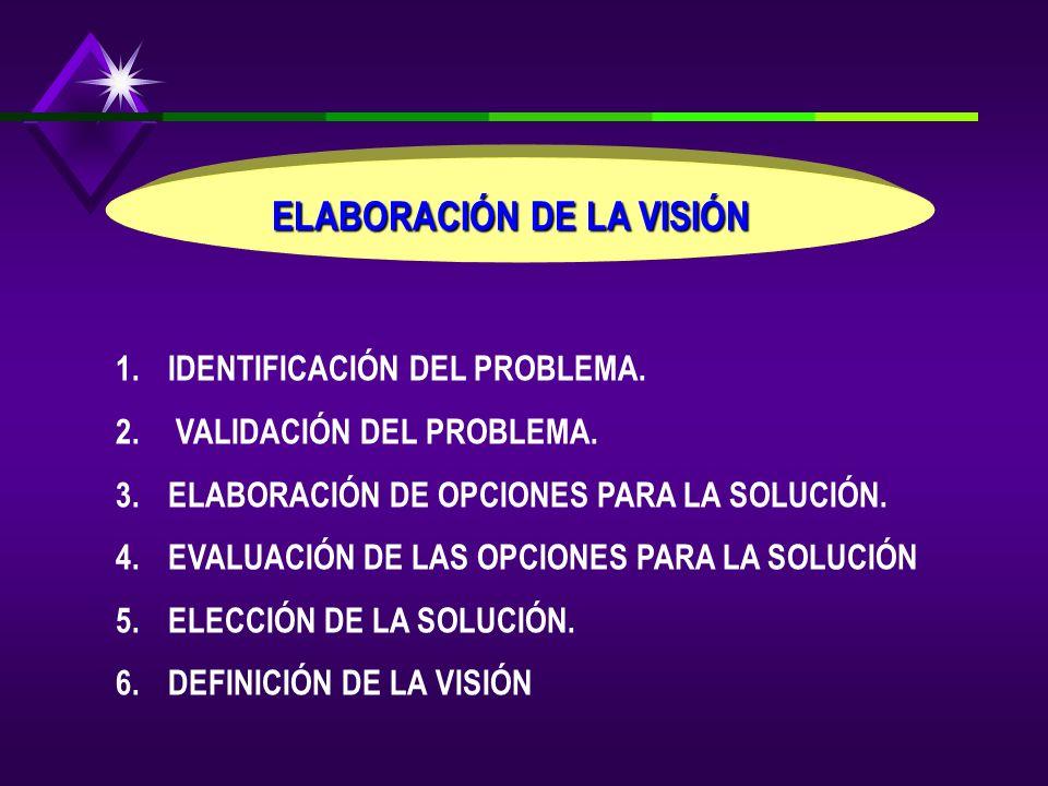 ELABORACIÓN DE LA VISIÓN