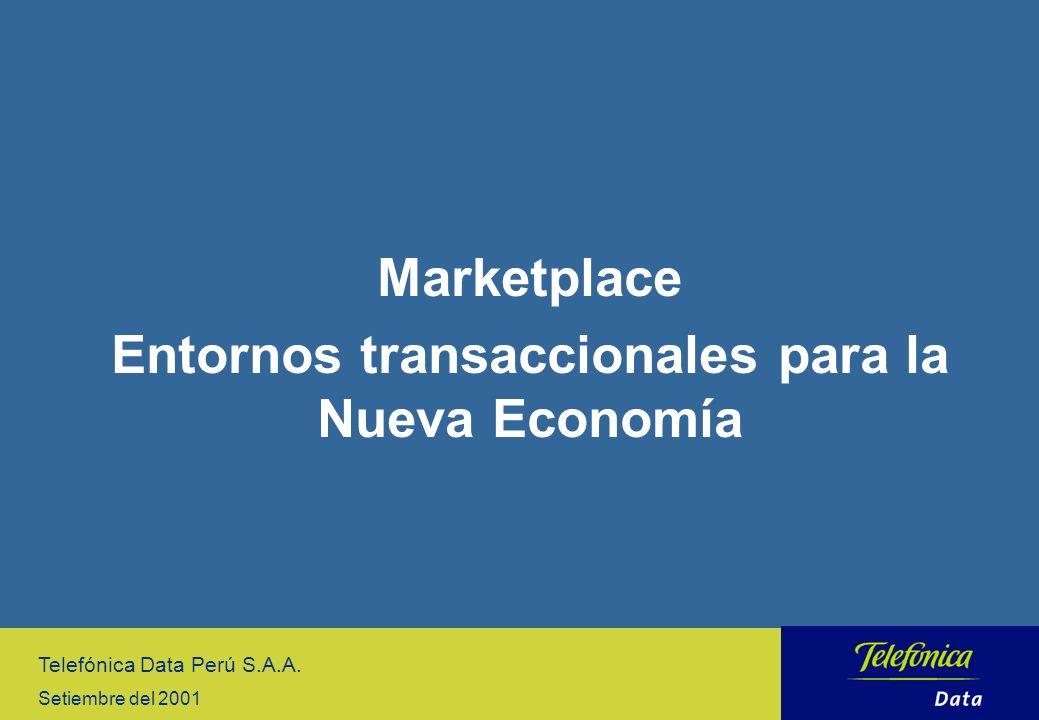 Entornos transaccionales para la Nueva Economía