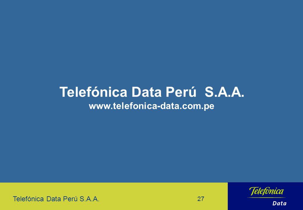 Telefónica Data Perú S.A.A.