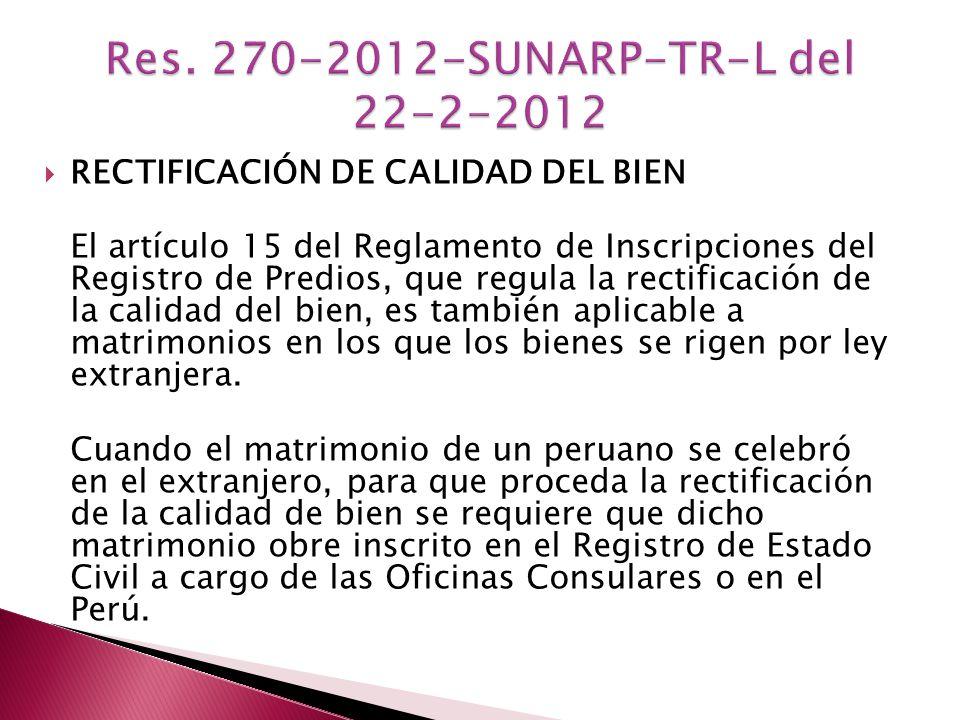 Res. 270-2012-SUNARP-TR-L del 22-2-2012