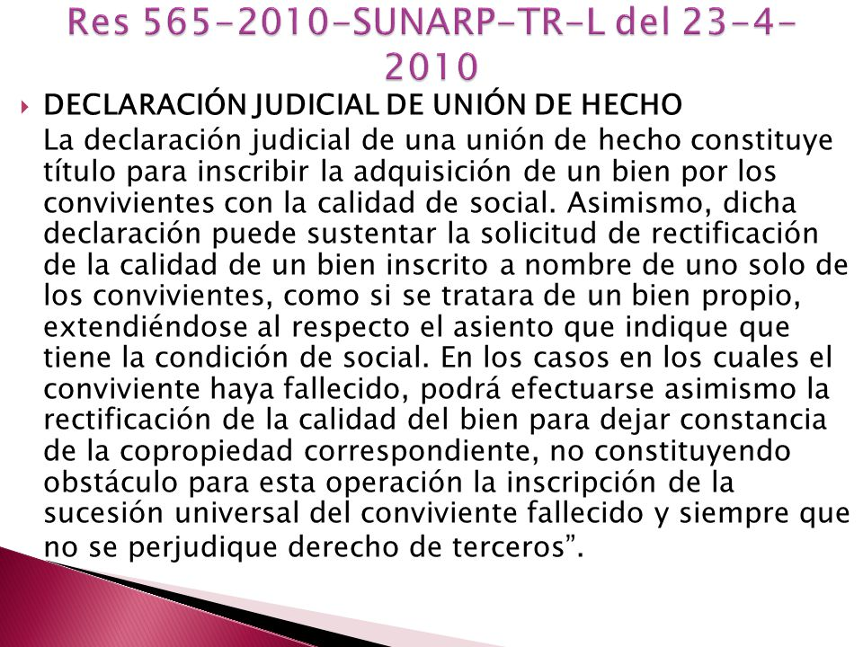 Res 565-2010-SUNARP-TR-L del 23-4-2010