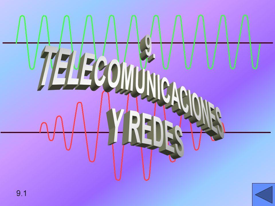 9. TELECOMUNICACIONES Y REDES