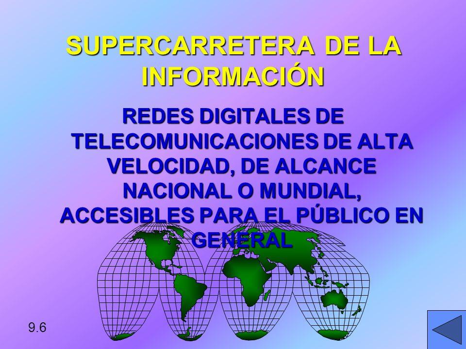 SUPERCARRETERA DE LA INFORMACIÓN