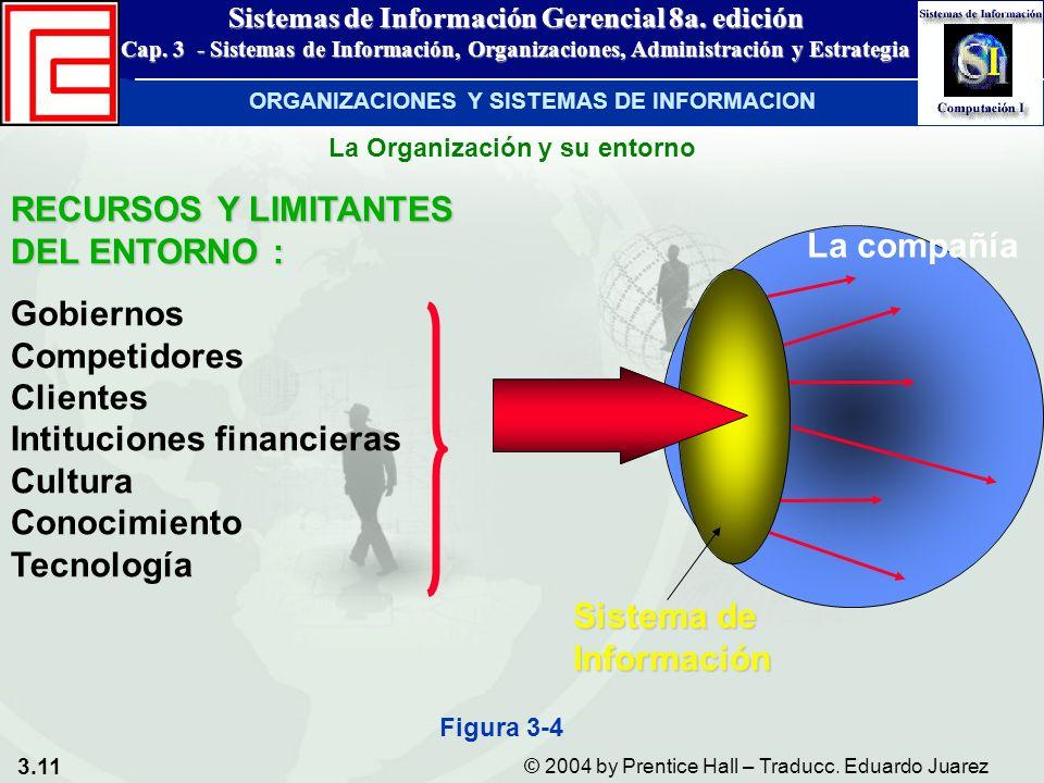 ORGANIZACIONES Y SISTEMAS DE INFORMACION