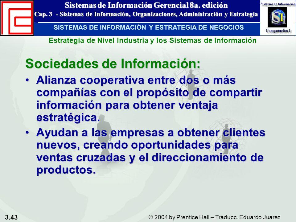 Sociedades de Información: