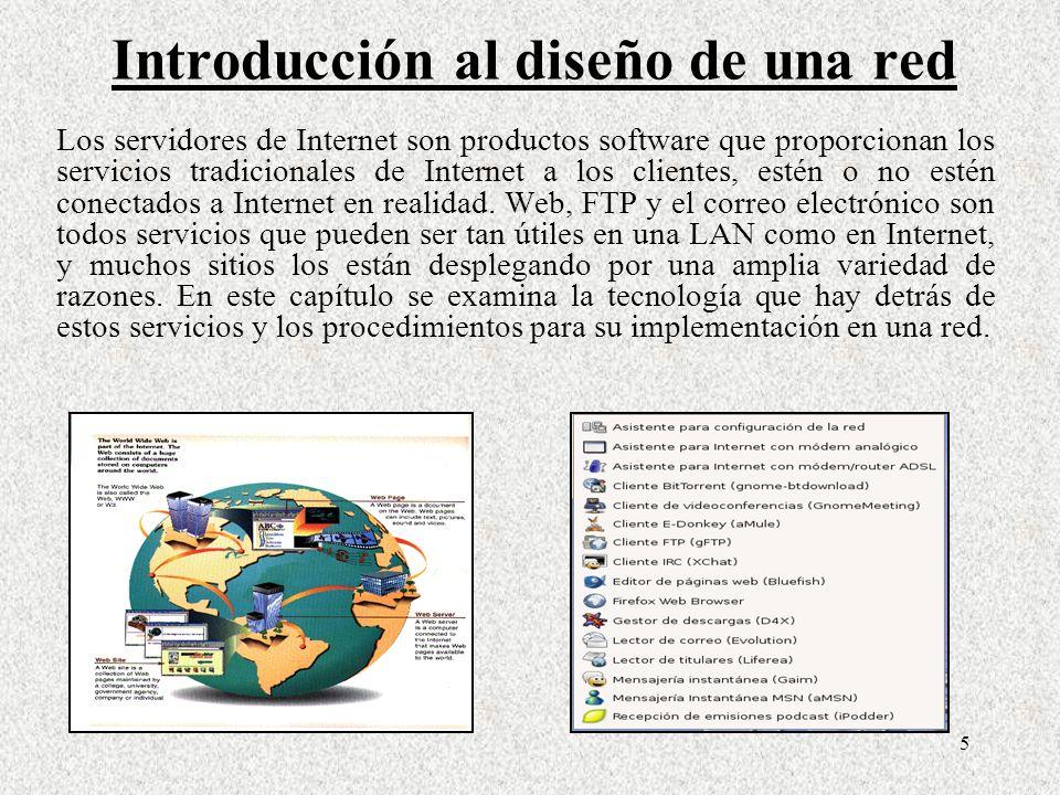 Introducción al diseño de una red