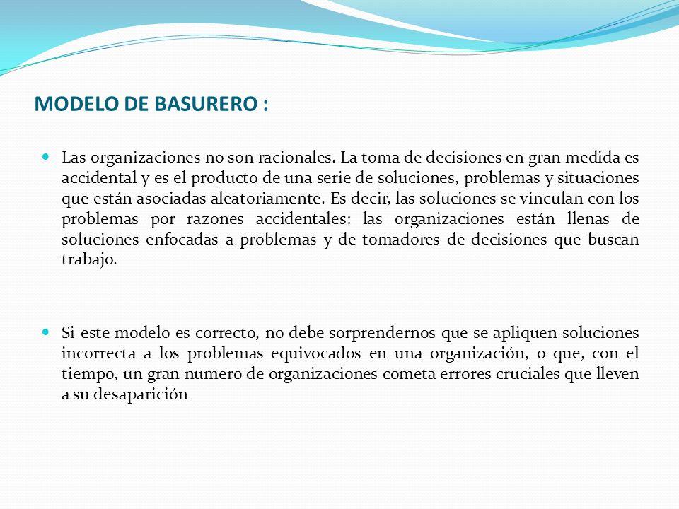 MODELO DE BASURERO :