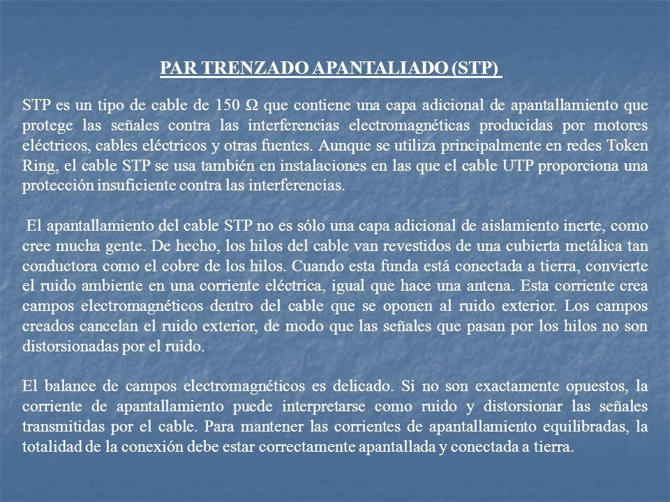 PAR TRENZADO APANTALIADO (STP)