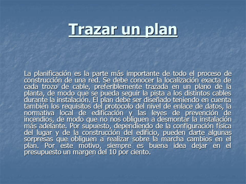 Trazar un plan