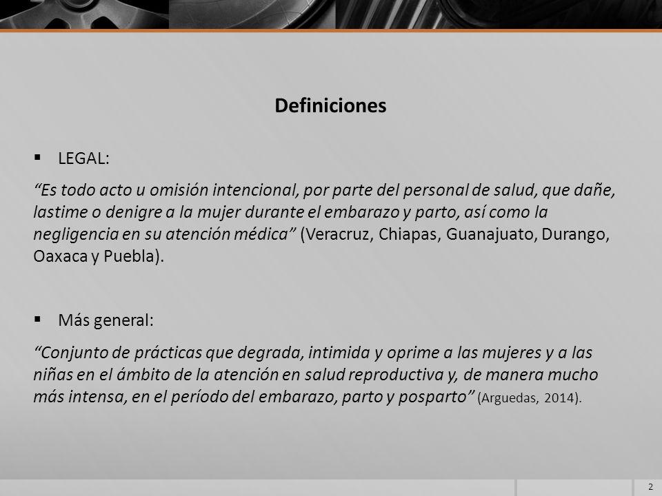 Definiciones LEGAL:
