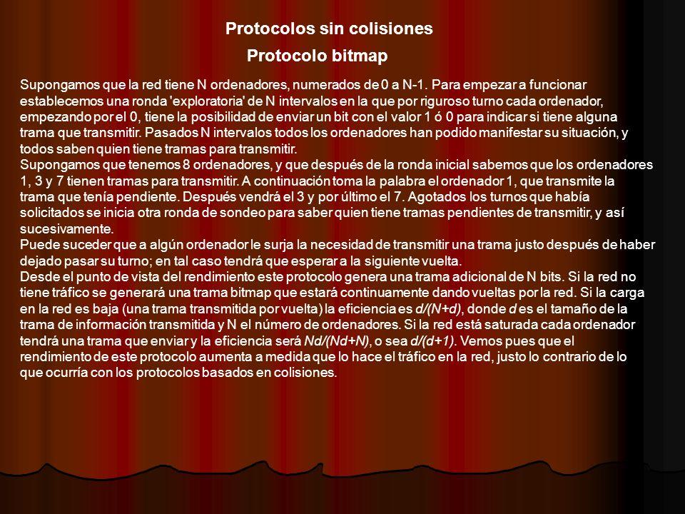 Protocolos sin colisiones