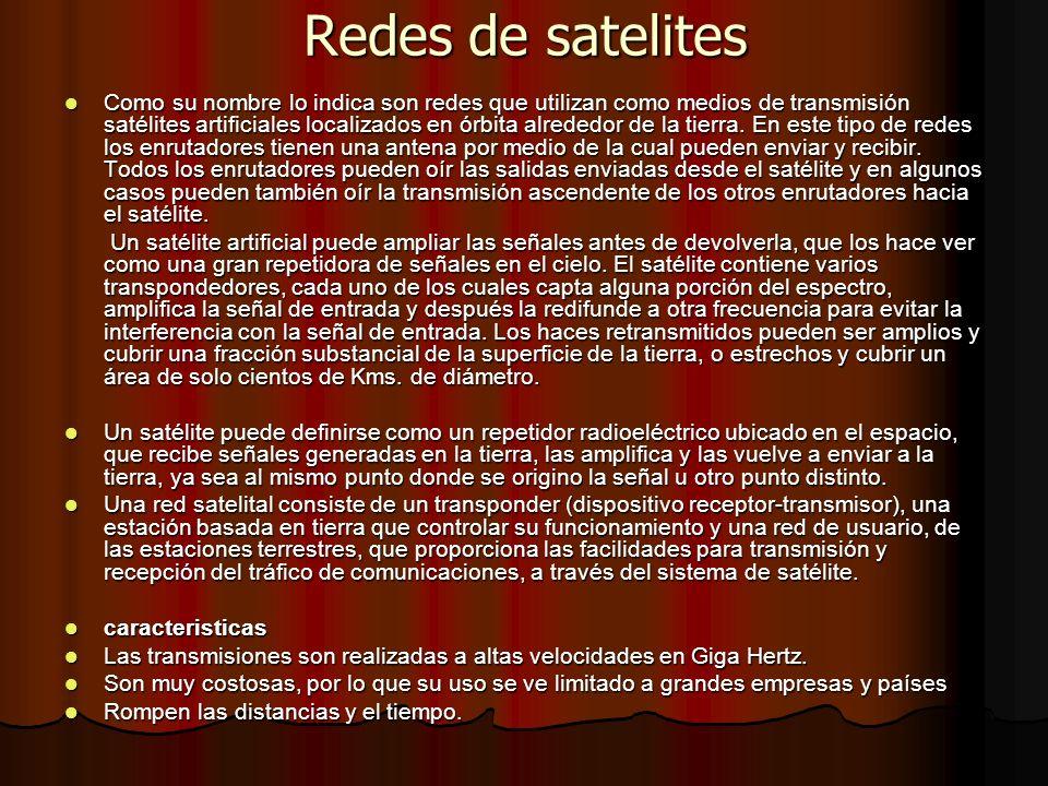 Redes de satelites