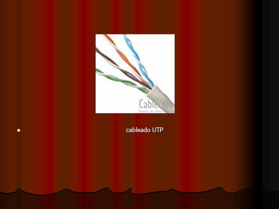 cableado UTP