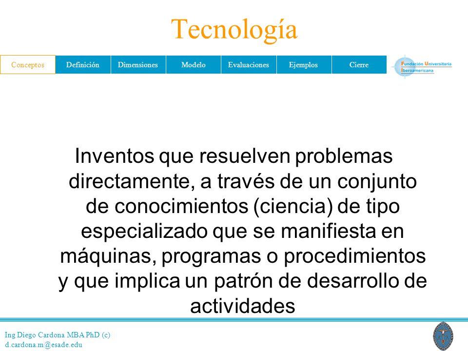Tecnología Conceptos.