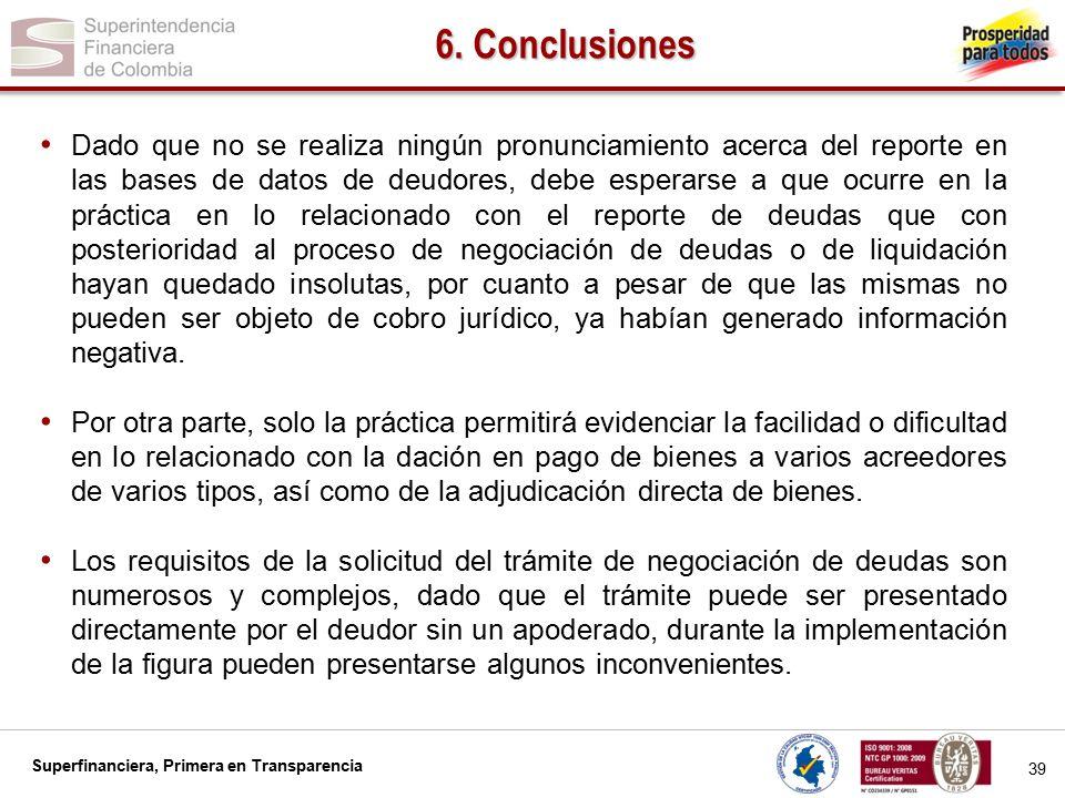 6. Conclusiones
