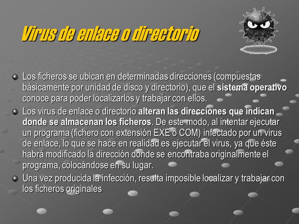 Virus de enlace o directorio