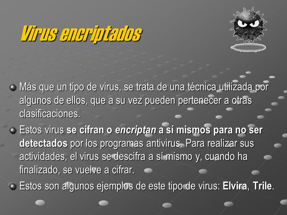 Virus encriptados