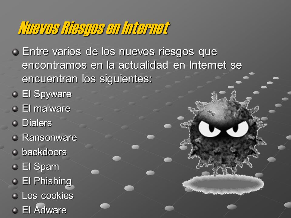 Nuevos Riesgos en Internet