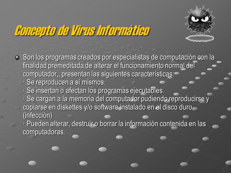 Concepto de Virus Informático