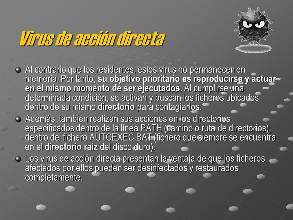 Virus de acción directa