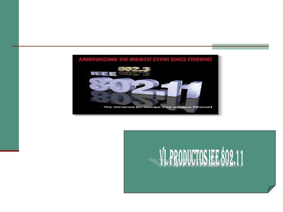 VI. PRODUCTOS IEE 802.11