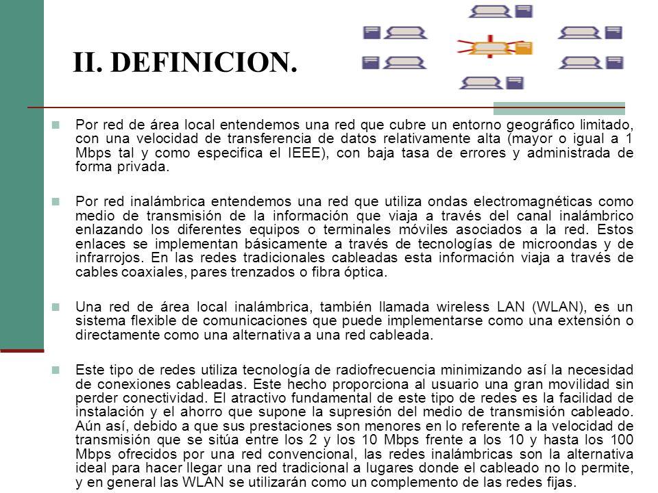 II. DEFINICION.