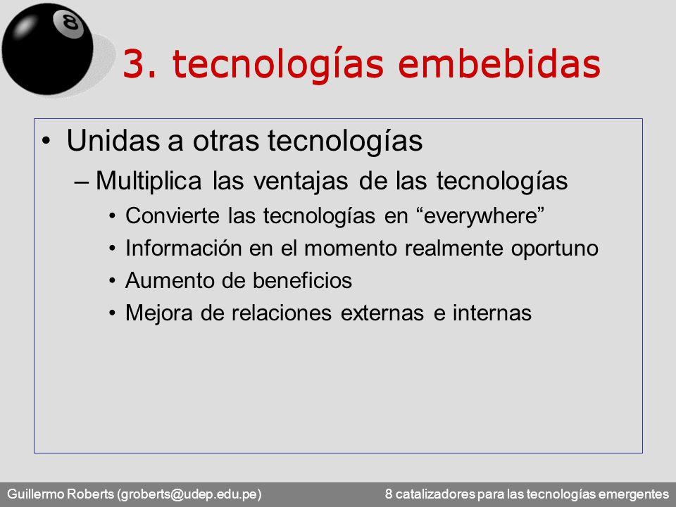 3. tecnologías embebidas