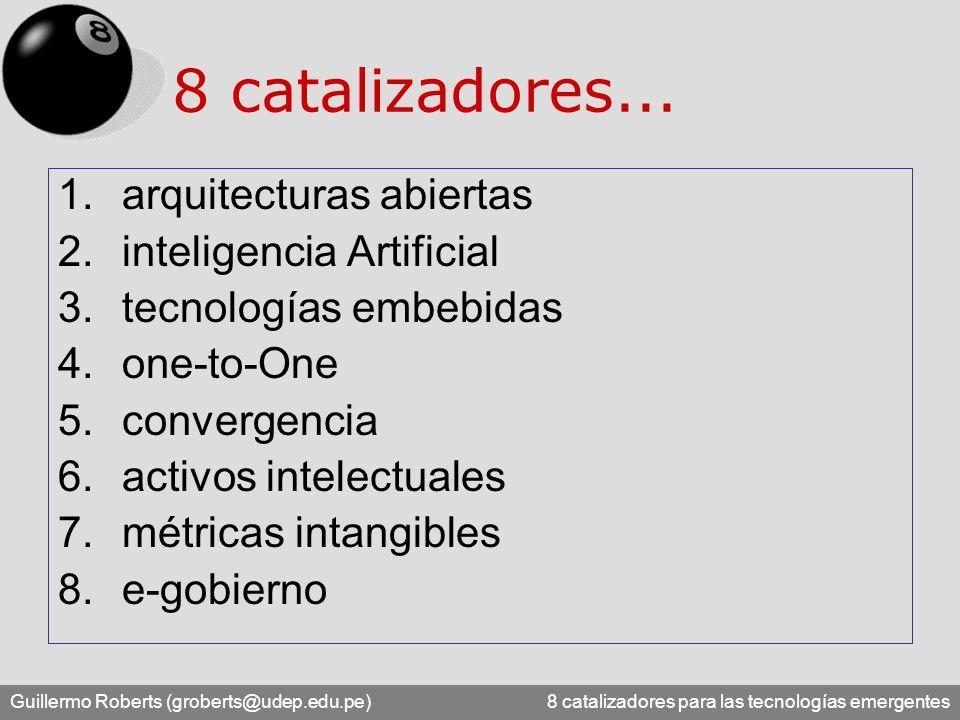 8 catalizadores... arquitecturas abiertas inteligencia Artificial