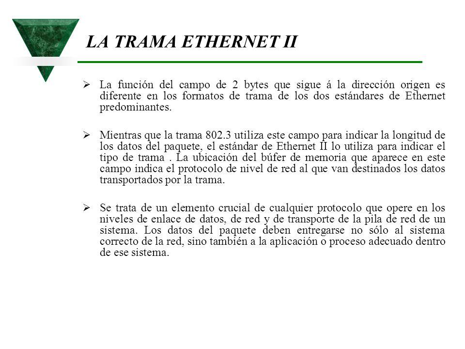 LA TRAMA ETHERNET II