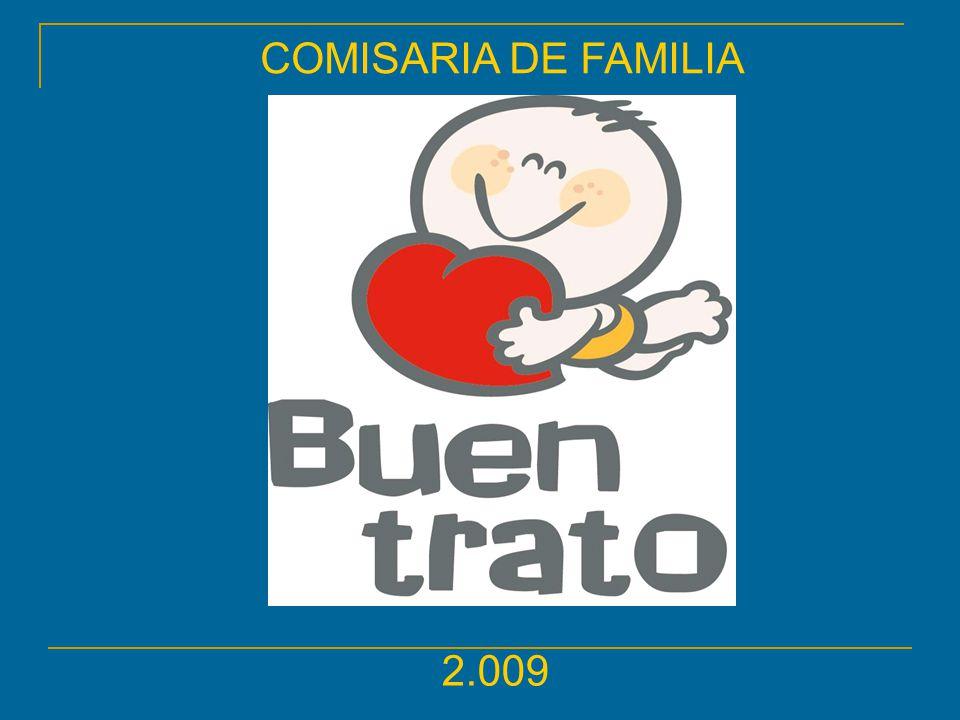 COMISARIA DE FAMILIA 2.009