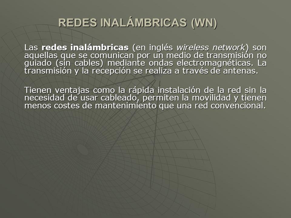 REDES INALÁMBRICAS (WN)